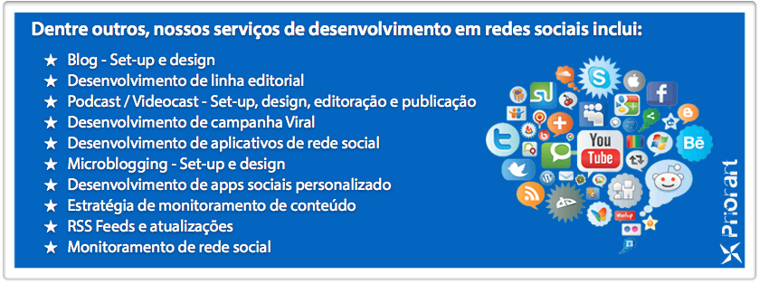 Marketing de redes sociais