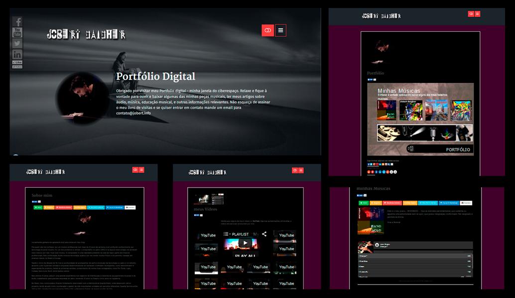 Web Site para Músicos e Bandas